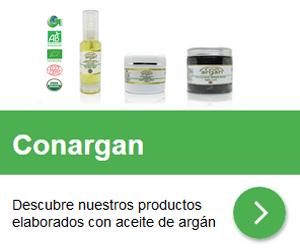 Conargan - Productos elaborados con aceite de argán